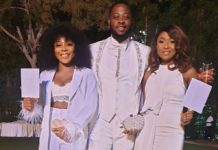 Photos from BamBam and Teddy White Wedding in Dubai
