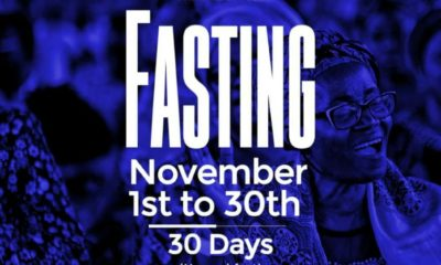 RCCG November 2019 30 Days Fasting Prayer Points Day 30, RCCG November 2019 30 Days Fasting Prayer Points Day 30, Latest Nigeria News, Daily Devotionals & Celebrity Gossips - Chidispalace