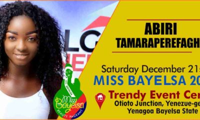 Vote For Abiri Tamaraperefagha Miss Bayelsa 2019 Contestant