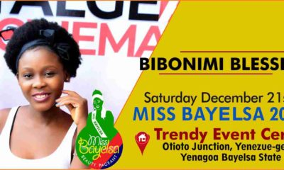 Vote For Bibonimi Blessing Miss Bayelsa 2019 Contestant