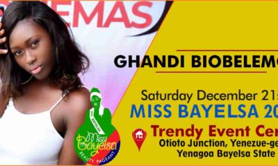 Vote For Ghandi Biobelemoye Miss Bayelsa 2019 Contestant