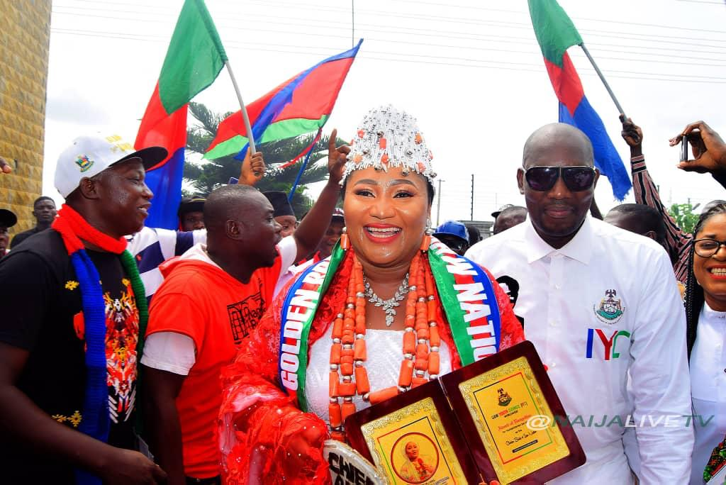 Nice, Accolades as Ijaw Youths honor Bayelsa Female Philanthropist, Nice Alamieyeseigha over sustained support for under privilege, Latest Nigeria News, Daily Devotionals & Celebrity Gossips - Chidispalace