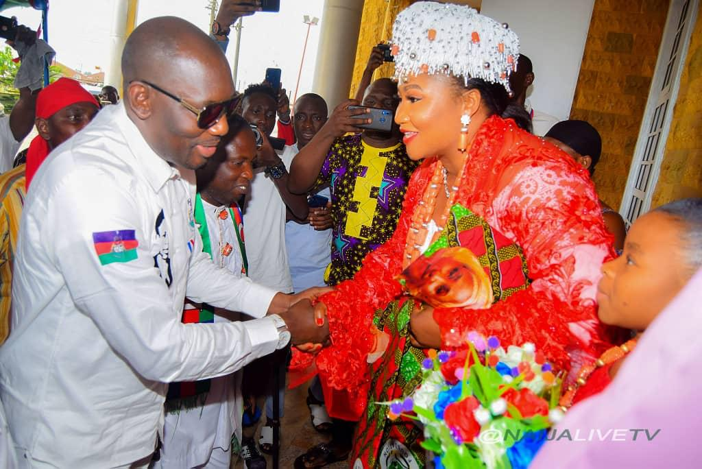 Accolades as Ijaw Youths honor Bayelsa Female Philanthropist, Nice Alamieyeseigha over sustained support for under privilege
