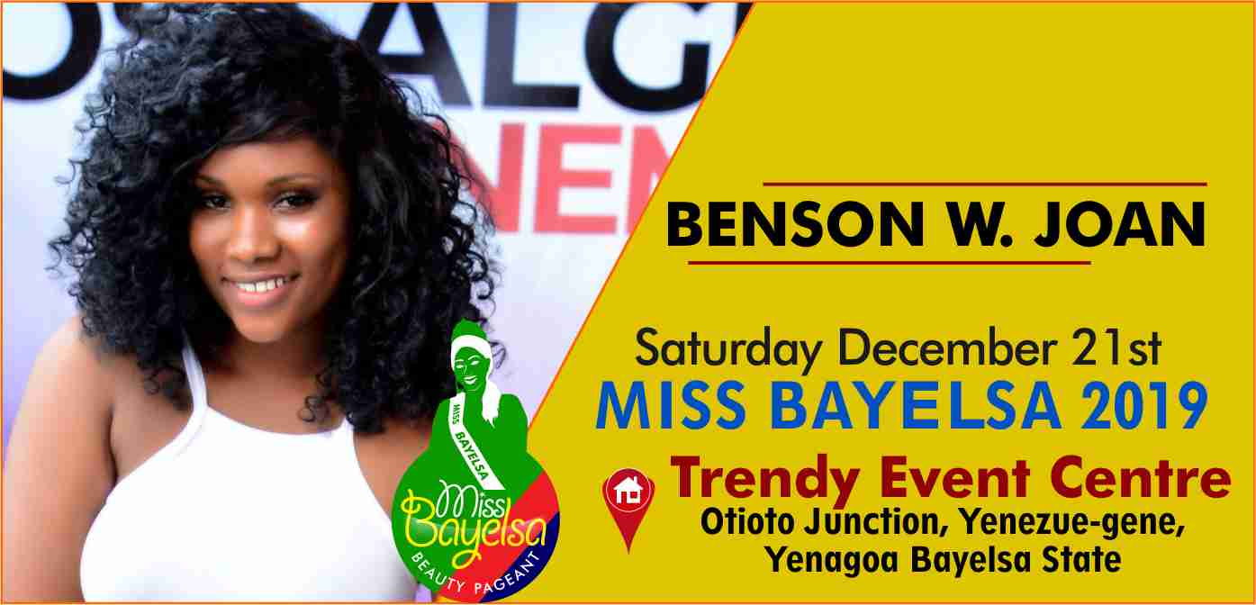 Photo of Vote For Benson Joan Miss Bayelsa 2019 Contestant