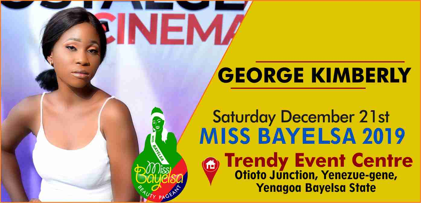 Photo of Vote For George Kimberly Miss Bayelsa 2019 Contestant