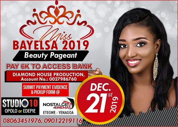 Photo of Vote Your Favourite Miss Bayelsa 2019 Contestants