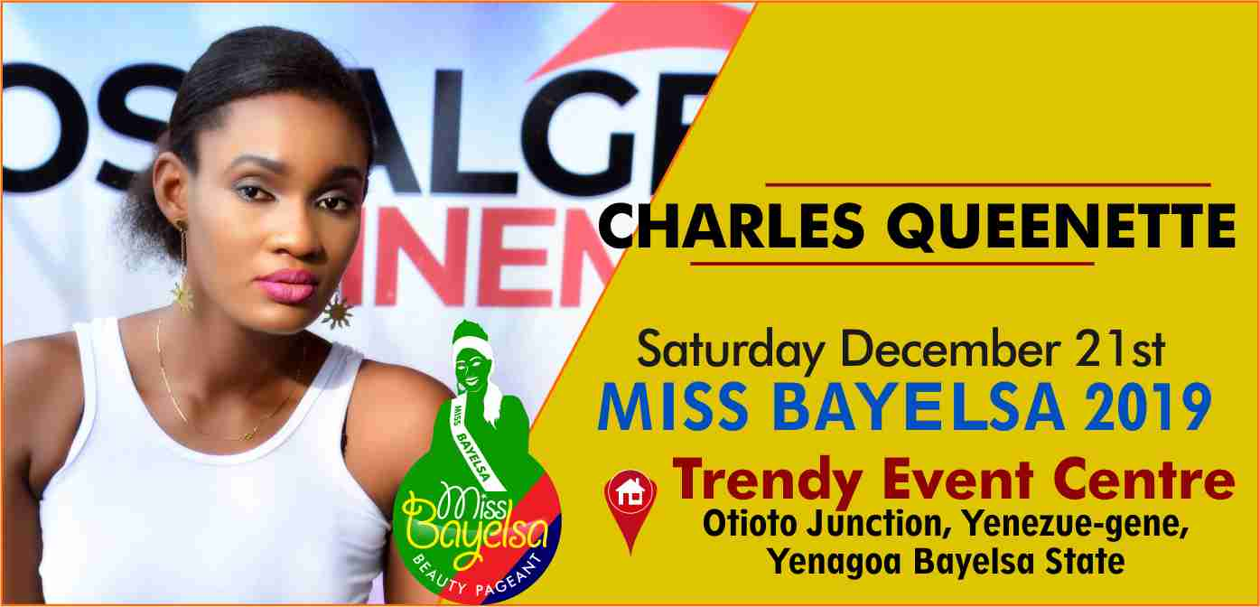 Photo of Vote For Charles Queenette Miss Bayelsa 2019 Contestant