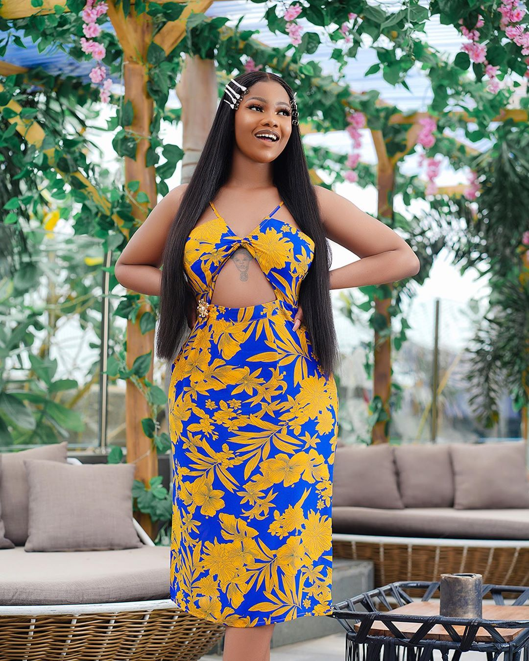 Tacha pleads after being slammed for receiving Benz gift from fans