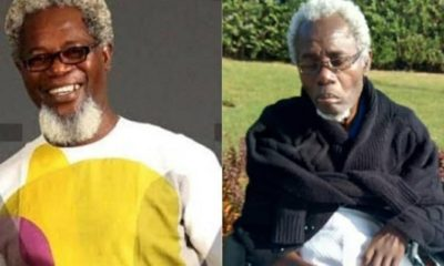 Nigerians in shock as new photos of sick veteran actor, Victor Olaotan surface