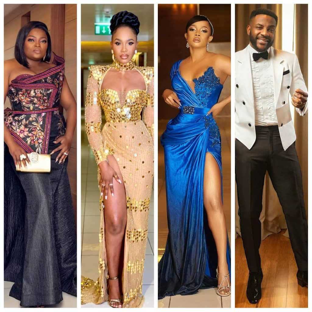 Photos: Toke Makinwa, Uti Nwachukwu, Ebuka, Adesua and Banky W, Sola Sobowale, others at the 2020 AMVCAs, Photos: Toke Makinwa, Uti Nwachukwu, Ebuka, Adesua and Banky W, Sola Sobowale, others at the 2020 AMVCAs, Latest Nigeria News, Daily Devotionals & Celebrity Gossips - Chidispalace