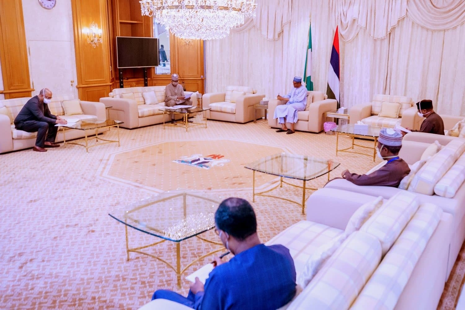 Photo of COVID-19: Details of Buhari's meeting with Presidential Task Force revealed