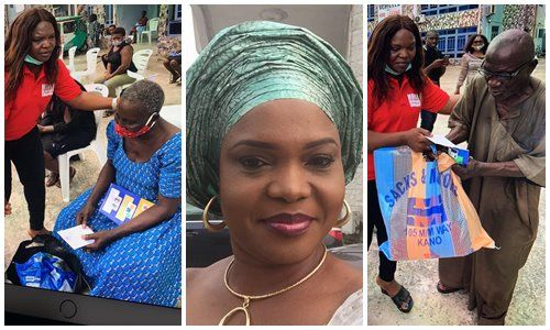 HRM Lady Evelyn Foundation distributes Palliatives to elderly and needy, HRM Lady Evelyn Foundation distributes Palliatives to elderly and needy, Latest Nigeria News, Daily Devotionals & Celebrity Gossips - Chidispalace