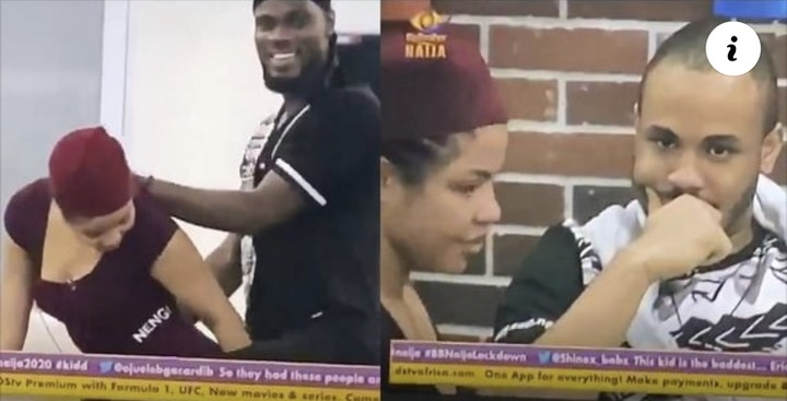 BBNaija 2020: The moment Prince gives Nengi doggy-style in front of Ozo and others, BBNaija 2020: The moment Prince gives Nengi doggy-style in front of Ozo and others (Video), Latest Nigeria News, Daily Devotionals & Celebrity Gossips - Chidispalace