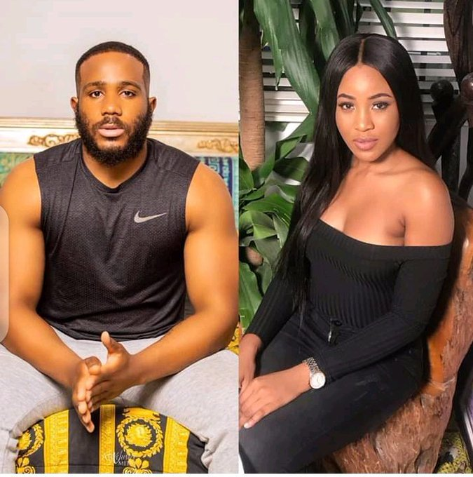 BBNaija 2020: Erica accidentally exposes her bare behind she enjoys s*x with Kiddwaya (videos)