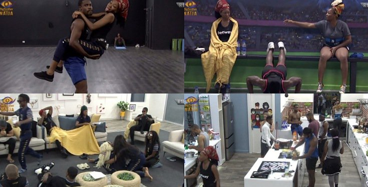 BBNaija 2020 Day 24: Lucy and Erica reconcile, BBNaija 2020 Day 24: Lucy and Erica reconcile, the chore war, a look at Erica's reign as HoH.., Latest Nigeria News, Daily Devotionals & Celebrity Gossips - Chidispalace