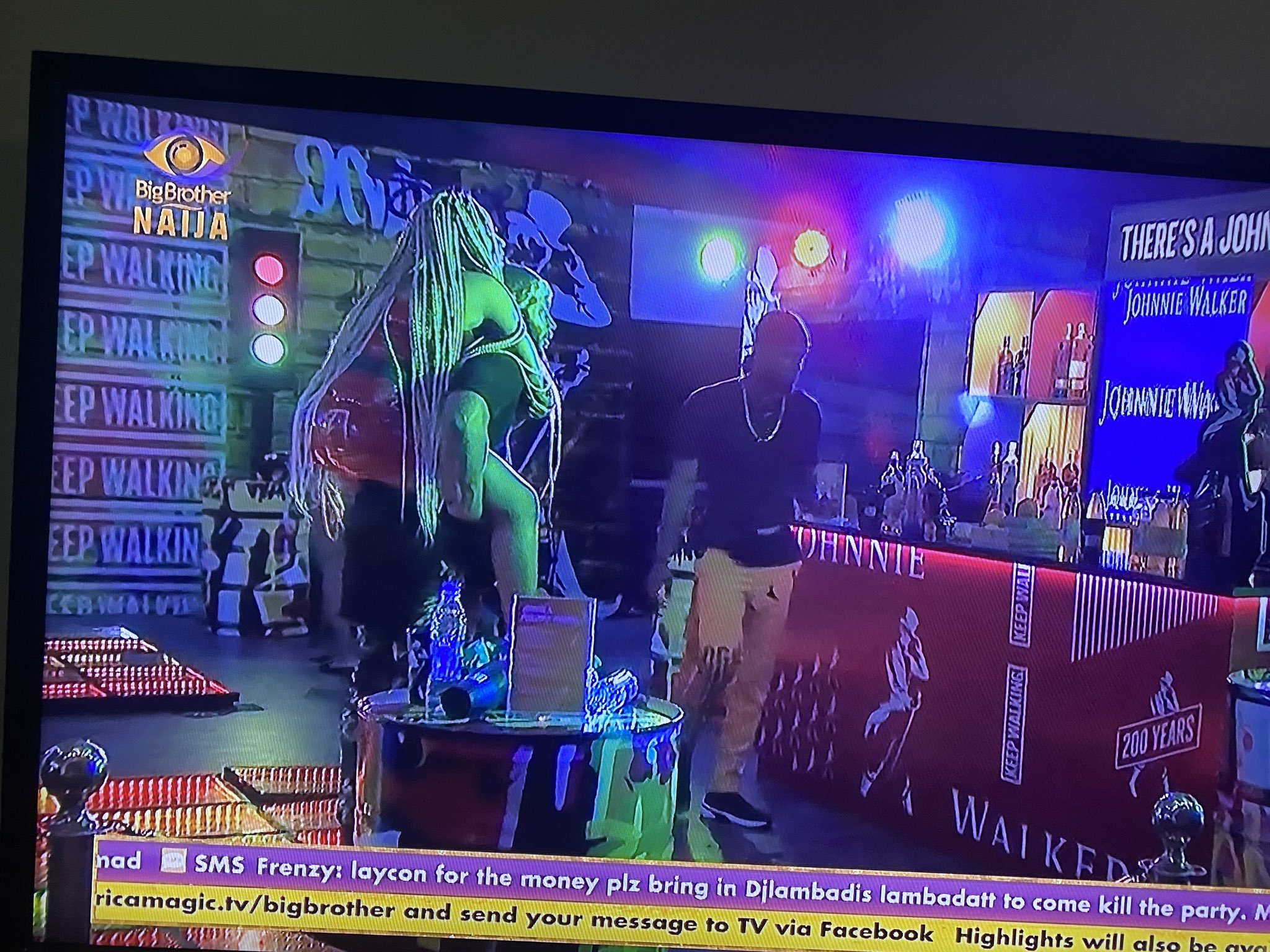 Photo of BBNaija 2020: Kiddwaya carries Erica on his back, kisses her after the party (video)