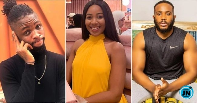 "Kiddwaya told Erica ""Laycon might get jealous of us and it will affect the group, BBNaija 2020: What Kiddwaya told Erica ""Laycon might get jealous of us and it will affect the group, tell him what he wants to hear"" (Video), Latest Nigeria News, Daily Devotionals & Celebrity Gossips - Chidispalace"