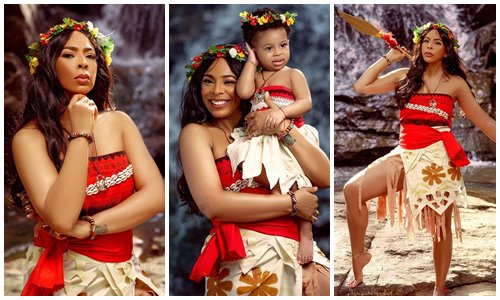 TBoss shares adorable photos as she celebrate daughter's first birthday, TBoss shares adorable photos as she celebrate daughter's first birthday, Latest Nigeria News, Daily Devotionals & Celebrity Gossips - Chidispalace