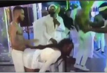Photo of Watch moment Brighto gave Ka3na doggy at the party (Video)