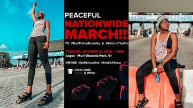 BBNaija star Alex Unusual on Peaceful Nationwide March Today 13th October 2020, BBNaija star Alex Unusual on Peaceful Nationwide March Today 13th October 2020, Latest Nigeria News, Daily Devotionals & Celebrity Gossips - Chidispalace