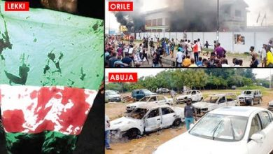 Photo of Black Tuesday: 49 killed as #EndSARS protests turn bloody