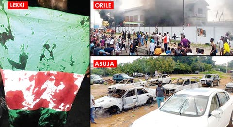 Black Tuesday: 49 killed as #EndSARS protests turn bloody, Black Tuesday: 49 killed as #EndSARS protests turn bloody, Latest Nigeria News, Daily Devotionals & Celebrity Gossips - Chidispalace