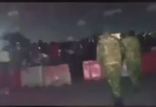 Photo of #LekkiTollGate Killings: Watch moment Soldiers open fire on innocent protesters (Video)