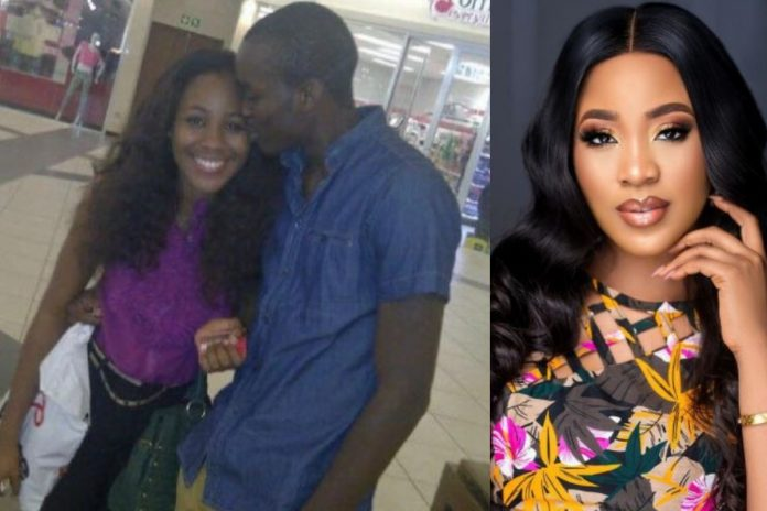 Throwback photo of a man passionately kissing Erica causes a STIR, Throwback photo of a man passionately kissing Erica causes a STIR, Latest Nigeria News, Daily Devotionals & Celebrity Gossips - Chidispalace