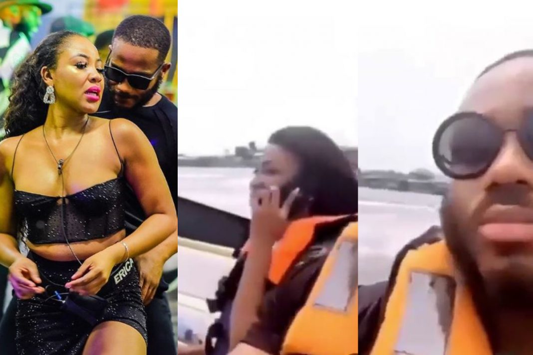 Kiddwaya and Erica on a weekend boat cruise in Lagos (Video), Kiddwaya and Erica on a weekend boat cruise in Lagos (Video), Latest Nigeria News, Daily Devotionals & Celebrity Gossips - Chidispalace