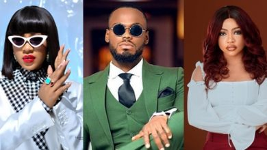 Reactions as Erica, Nengi and Prince work together for the first time after BBNaija show