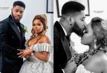 BBNaija Praise allegedly dumps his 42-year-old BabyMama; ties the KNOT with his long time fiancee – Blogger reveals (Photos)