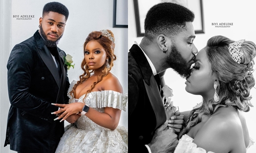 BBNaija Praise allegedly dumps his 42-year-old BabyMama; ties the KNOT with his long time fiancee – Blogger reveals (Photos), BBNaija Praise allegedly dumps his 42-year-old BabyMama; ties the KNOT with his long time fiancee – Blogger reveals (Photos), Latest Nigeria News, Daily Devotionals & Celebrity Gossips - Chidispalace