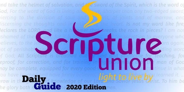 Scripture Union Daily Guide 5th December 2020